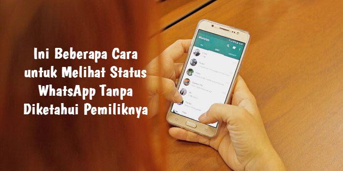 Beberapa Cara untuk Melihat Status WhatsApp Tanpa Diketahui Pemiliknya