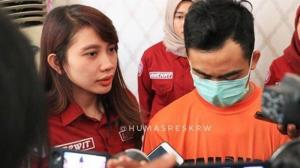 Pelaku Video Mesum Mojang Karawang Setelah ditetapkan Jadi Tersangka