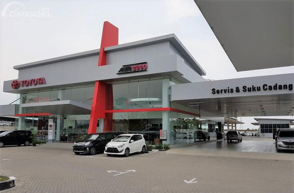 Dealer Toyota Marelan Medan
