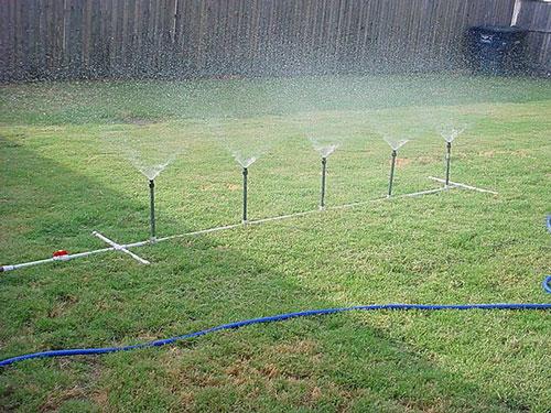 Membuat Sprinkler, Alat Penyiram Otomatis