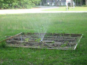 Membuat Sprinkler dari Pipa Air.