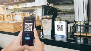 Pembayaran non tunai dengan scan qr code