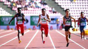 Lari Jarak Pendek atau Sprint
